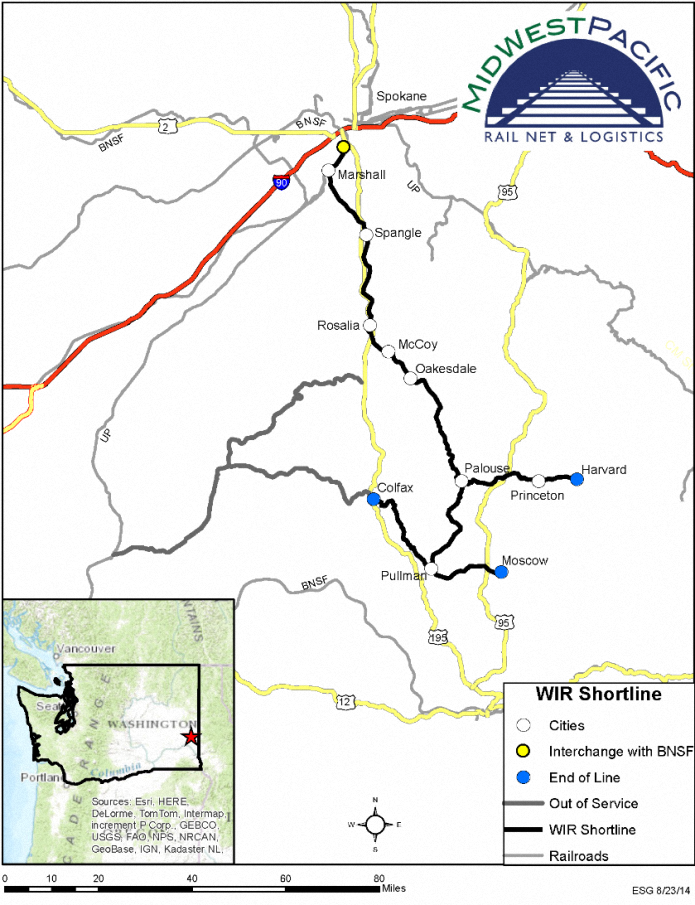 Washington & Idaho Railroad
